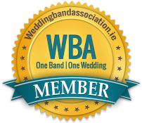 Wedding band association badge