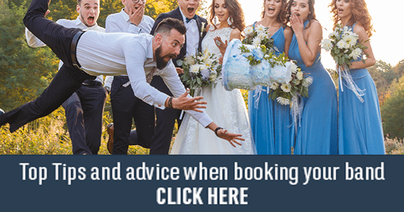 Top Ten Tips for couples booking a wedding band in Ireland