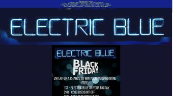 Wedding Band - Electric Blue